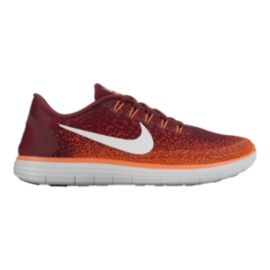 Nike Men's Free RN Distance Running Shoes - Red/Orange/White
