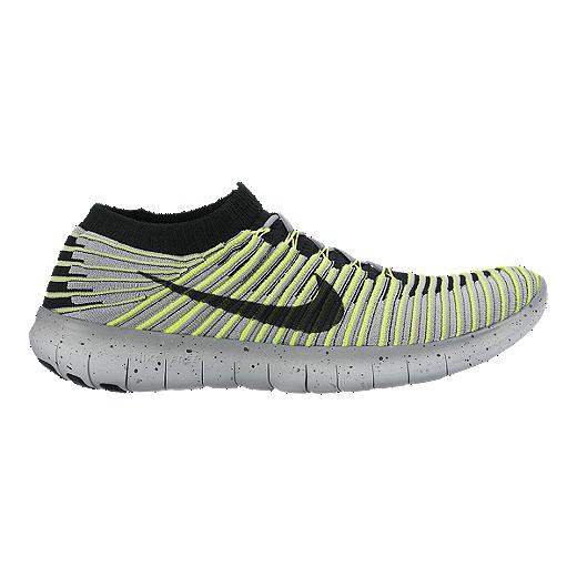 Shoptagr | Nike Running Free Run Flyknit Trainers In Grey