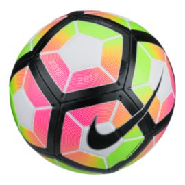 Nike Strike Soccer Ball - White/Bright Crimson