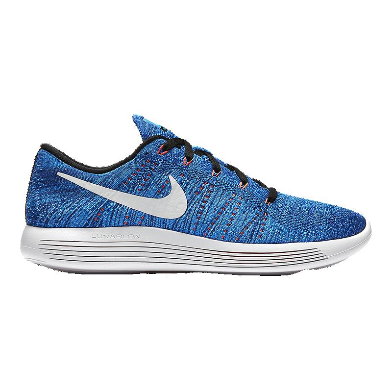 pretty nice 7b8be 45e95 Nike Men s LunarEpic Low FlyKnit Running Shoes - Blue White   Sport Chek