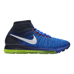 more photos a7eb9 01471 ... discount code for nike mens zoom all out flyknit running shoes blue  white sport chek 47fb2
