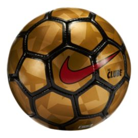 Nike FootballX Clube Futsal Soccer Ball - Metallic Gold/Black