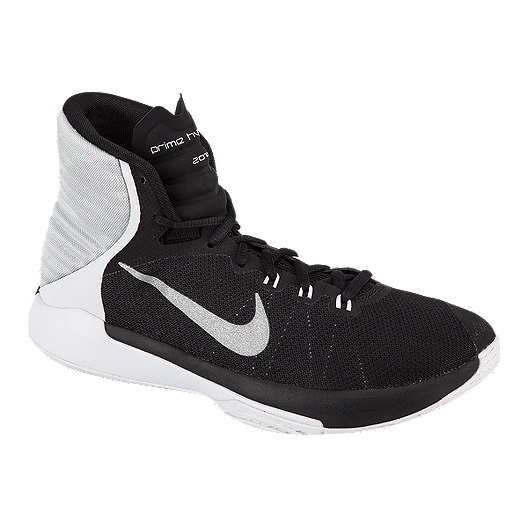 check out ef332 3cf32 Nike Men's Prime Hype DF 2016 Basketball Shoes - Black ...