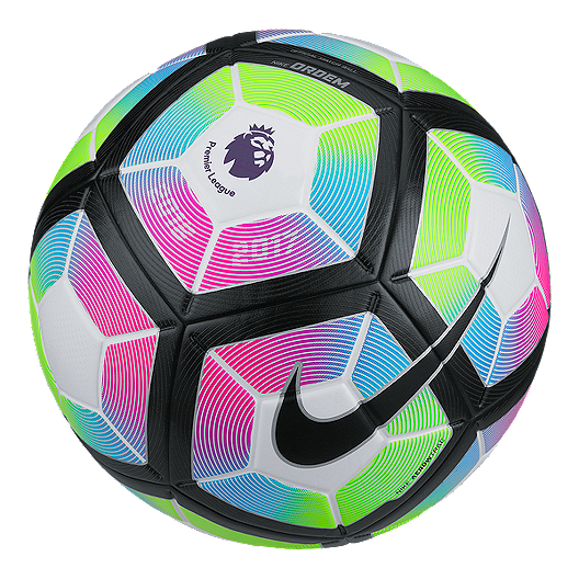 e8110d0a0749 Nike Ordem Size 4 Premier League Soccer Ball - White Blue
