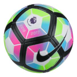 Nike Ordem Size 4 Premier League Soccer Ball - White/Blue