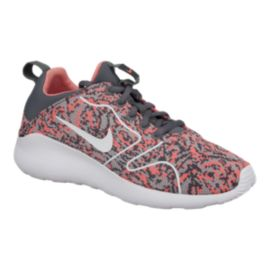 Nike Women's Kaishi 2.0 Jacquard Shoes - Grey/Pink