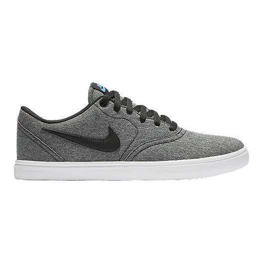 d02155abb Nike Men s SB Check Solar Premium Skate Shoes - Black Grey