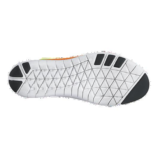 928970dbf369 Nike Women s Free TR Focus FlyKnit Training Shoes - Orange Yellow ...