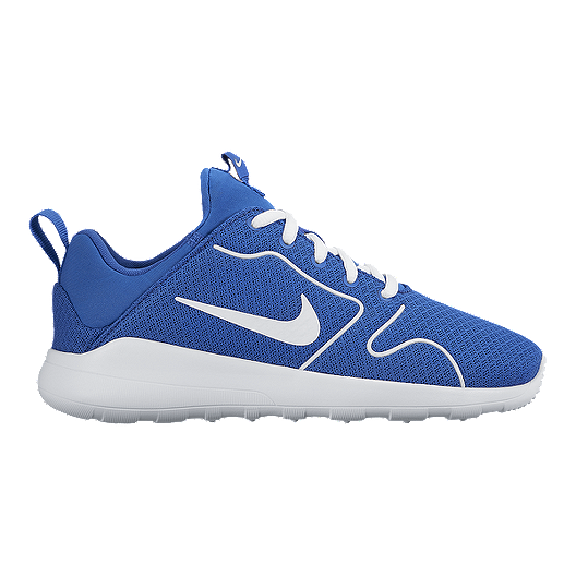 new style 05340 4c53e Nike Kids  Kaishi 2.0 Grade School Casual Shoes - Royal White   Sport Chek