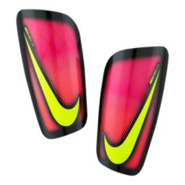 Nike Mercurial Lite Shinguards - Pink Blast/Black