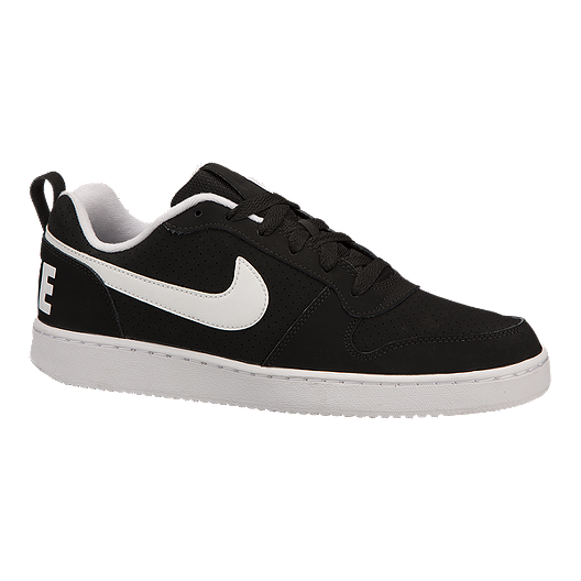 f047c20ab73212 Nike Men s Court Borough Low Shoes - Black White