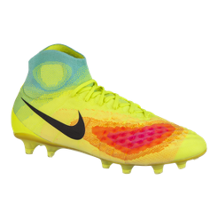 best website a2093 0adba ... canada nike mens magista obra ii fg outdoor soccer cleats volt green  blue pink sport chek