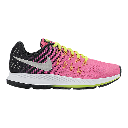 Nike Girls' Zoom Pegasus 33 Grade School Running Shoes