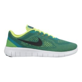 Nike Kids' Free Run Grade School Running Shoes - Teal/Black/Volt