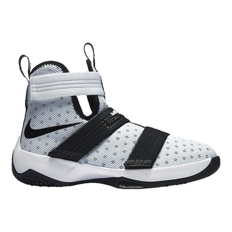 detailed look 9dc34 0f5af Nike LeBron Soldier 10 Kids' Grade-School Basketball Shoes ...