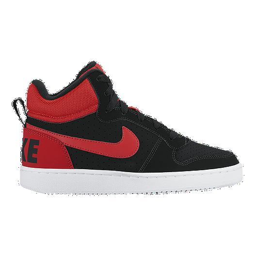 d50ed392809 Nike Court Borough Mid Kids  Grade-School Casual Shoes
