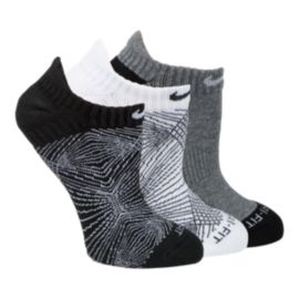 Nike Dri-FIT&trade&#x3b; Graphic No Show Women's Socks - 3-Pack
