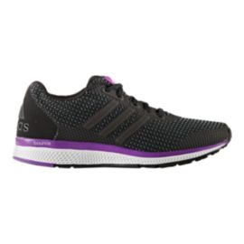 9fdbf9f7f552 adidas Women s Lightster Bounce Running Shoes - Black Purple White ...