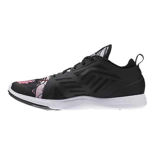 7ac7663a43d Reebok Women s Cardio Inspire Low 2.0 Training Shoes - Black Pink ...