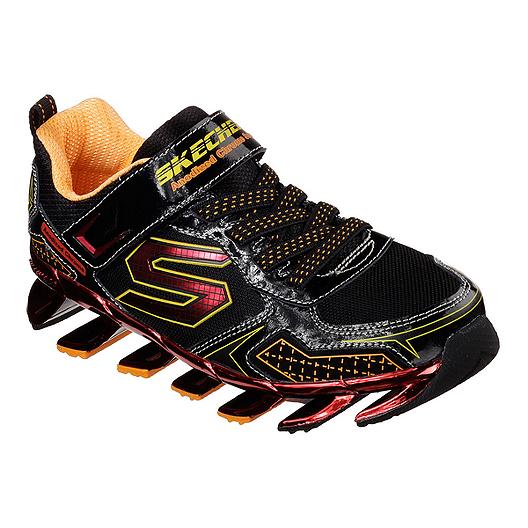 7f8254276223 Skechers Kids  Mega Blade 2.0 Preschool Casual Shoes - Black Red Orange