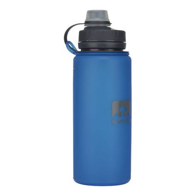 Nathan Flex Shot 750 Millilitre / 24 oz. Flexible Water Bottle - Electric Blue