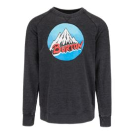 Burton Retro Mountain Recycle Men's Crew Fleece Top