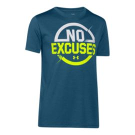 Under Armour No Excuses Boys' Short Sleeve Tee