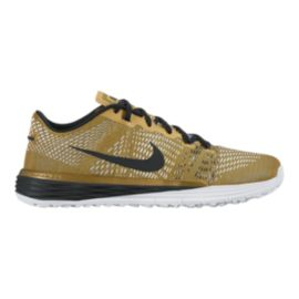 Nike Men's Lunar Caldra TR Training Shoes - Gold/Black/White