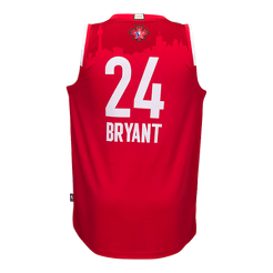 32be9bcefe3 ... los angeles lakers black jersey retirement name number t shirt ec5d0  aeddc  coupon code for nba all star 2016 west kobe bryant swingman jersey  sport ...