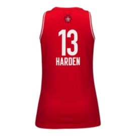 NBA All Star 2016 West James Harden Women's Basketball Jersey