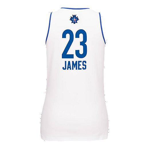 super popular bdb02 79861 NBA All Star 2016 East LeBron James Women's Basketball ...