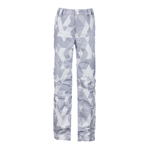 7011676db Under Armour Girls' ColdGear® Infrared Chutes Insulated Winter Pants - 100  WHITE PRINT