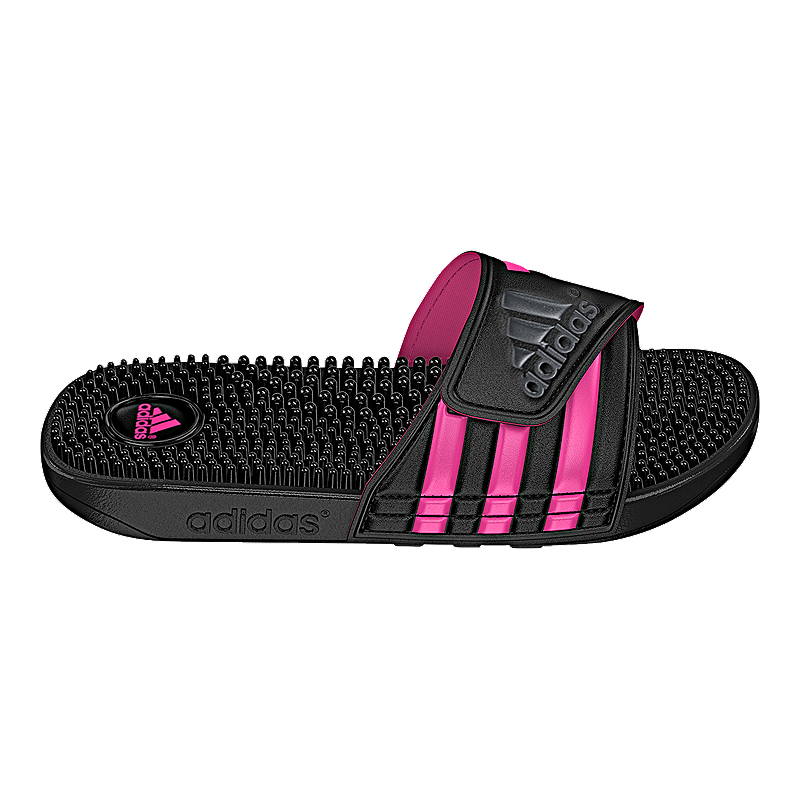 Adissage Sandals BlackgreypinkSport Adidas Women's Chek QrBWEdoeCx