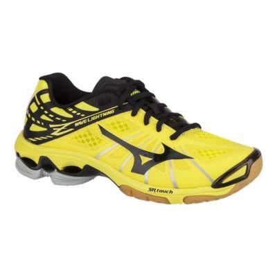 mizuno yellow running shoes