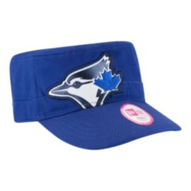 Toronto Blue Jays Jumbo Gloss Women's Military Cap
