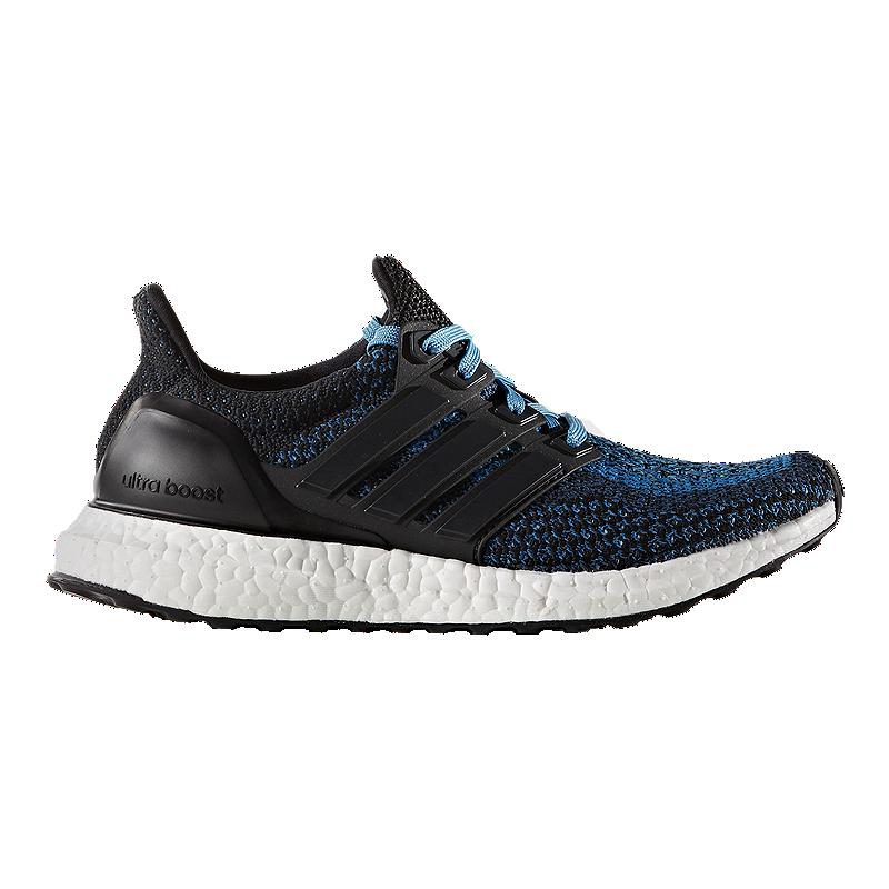 promo code cd056 951bb adidas Kids  Ultra Boost Grade School Running Shoes - Black Blue   Sport  Chek