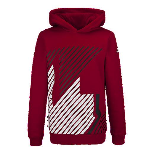 nett adidas Essentials Kids' Pullover Hoodie | Sport Chek