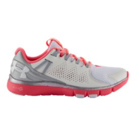 Under Armour Women's Micro G Limitless Training Shoes - White/Pink/Grey