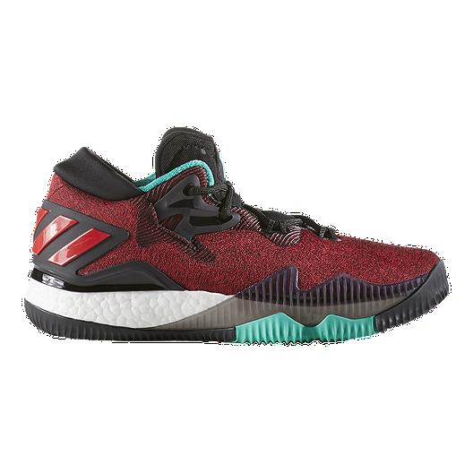 a1849c6c79dd adidas Kids  CrazyLight Boost Low Grade School Basketball Shoes - Ghost  Pepper