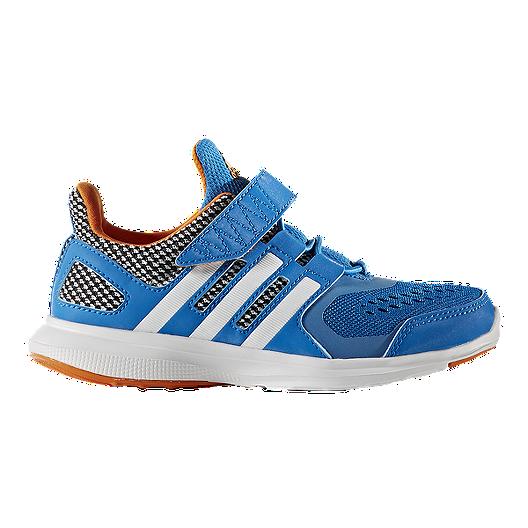 93b55a1aeb adidas Kids' HyperFast 2.0 Preschool Running Shoes - Blue/White/Orange