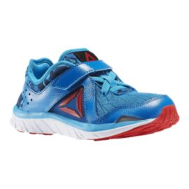 Reebok Kids' Fusion Runner Preschool Running Shoes - Blue/Red/White