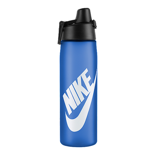 f1a6045886 Nike 24 oz Core Hydro Flow Futura Water Bottle - Royal Blue | Sport Chek