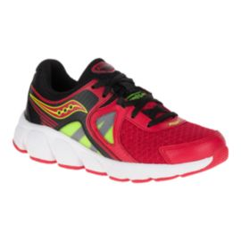 Saucony Kids' Kotaro 3 Grade School Running Shoes - Red/Black/Citron