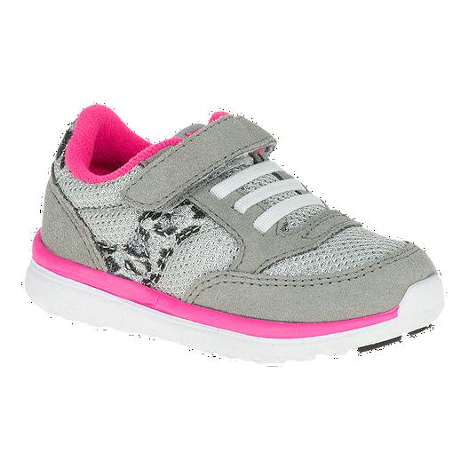 e032a4c209b6 Saucony Baby Jazz Lite Girls  Toddler Running Shoes