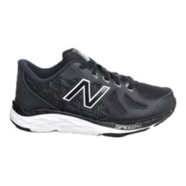 New Balance Kids' 790 V5 Grade School Casual Shoes - Black/White