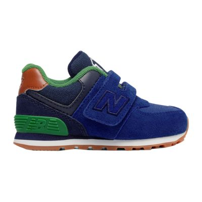 New Balance Toddler 574 Shoes - Blue/Green