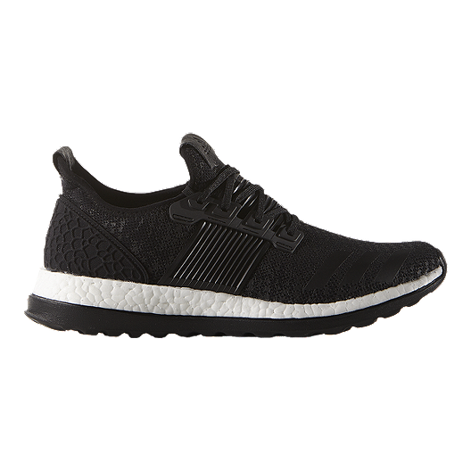 3a0255297ce044 adidas Men's Pure Boost ZG Running Shoes - Black/White | Sport Chek