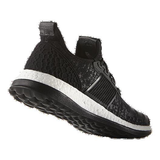 6e4ca3e598fbf adidas Men s Pure Boost ZG Running Shoes - Black White. (6). View  Description
