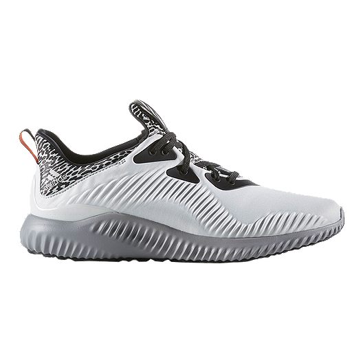 new style 01f27 fe698 adidas Men s Alpha Bounce Running Shoes - White Black Grey   Sport Chek