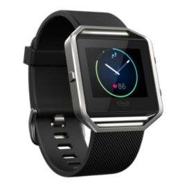 Fitbit Blaze Fitness Tracker - Black/Silver Large